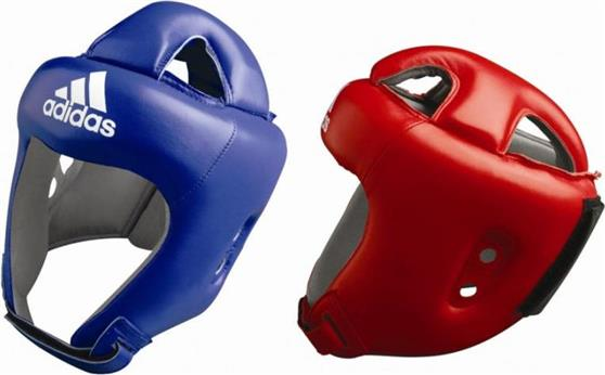 ΠροστατευτικάAdidasAdistar Δερμάτινη Κάσκα Αγώνων ADIBH04 Red Μ