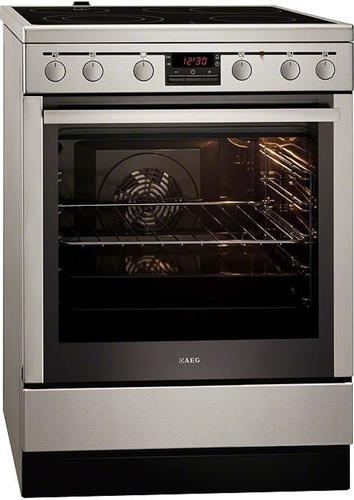 Κεραμική ΚουζίναAEG347056V-MN Inox