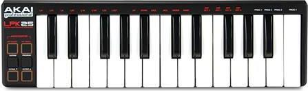 Midi KeyboardAkaiLPK-25-V2 25 πλήκτρων