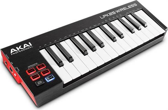 Midi Keyboard Akai LPK-25 Wireless