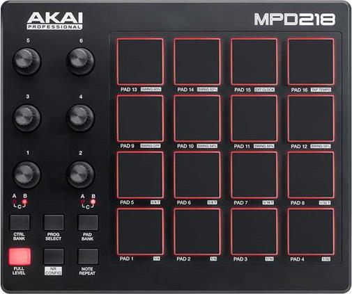 ControllerAkaiMPD-218 USB Pad