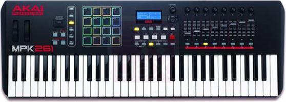 Midi KeyboardAkaiMPK-261 61 Πλήκτρα