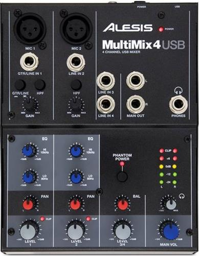 Αναλογική ΚονσόλαAlesisMultiMix 4 USB