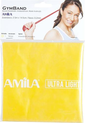 ΛάστιχοAmila48185 Gym Band 2,5m Ultra light