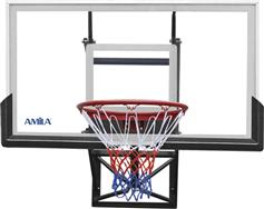 Amila 49224 Wall Mounted Backboard με Δίχτυ