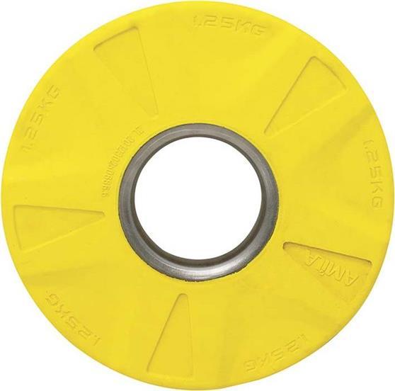 ΔίσκοςAmila84570 Με Επένδυση Λάστιχου 50mm 1,25kg Κίτρινος