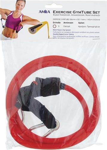 ΛάστιχοAmila88162 Gym Tube με Clip Μεσαίο