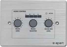 Apart Audio PM-1122R Remote Control Panel
