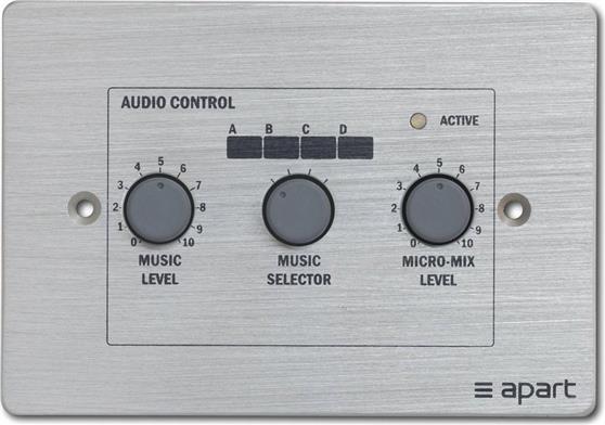 Αξεσουάρ ΕνισχυτώνApart AudioPM-1122R Remote Control Panel