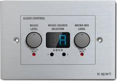 Apart Audio Zone-4R Remote Control Panel