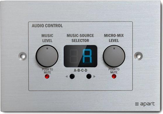 Αξεσουάρ ΕνισχυτώνApart AudioZone-4R Remote Control Panel