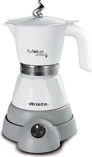 Μηχανές EspressoAriete1358 Moka Aroma White