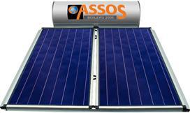 Assos SP 200E Glass Επιλεκτικός Τιτανίου Τριπλής Ενέργειας για Αντλία Θερμότητας