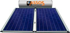 Assos SP 300E Glass Επιλεκτικός Τιτανίου Τριπλής Ενέργειας για Αντλία Θερμότητας