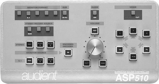 Επεξεργαστές Ηχείων StudioAudientASP-510 Surround Monitor Controller