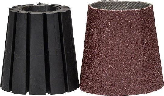 Αξεσουάρ ΕργαλείωνBoschASK 30 SET Στέλεχος Υποδοχής + Κωνικό Φύλλο Λείανσης για PRR 250 ES