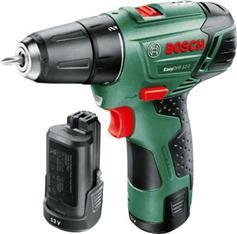 Bosch Easy Drill 12-2 με 2 Μπαταρίες