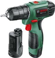 Bosch Easy Drill 1200 με 2 Μπαταρίες