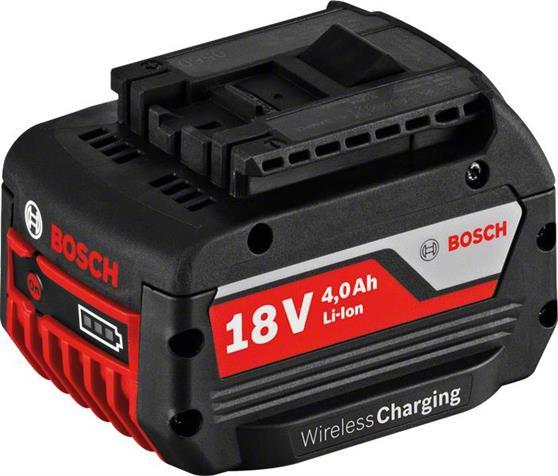 Αξεσουάρ ΕργαλείωνBoschGBA 18V 4,0Ah Wireless Charging Professional Μπαταρία