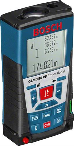 ΑποστάσεωνBoschGLM 250 VF Professional Με Λέιζερ