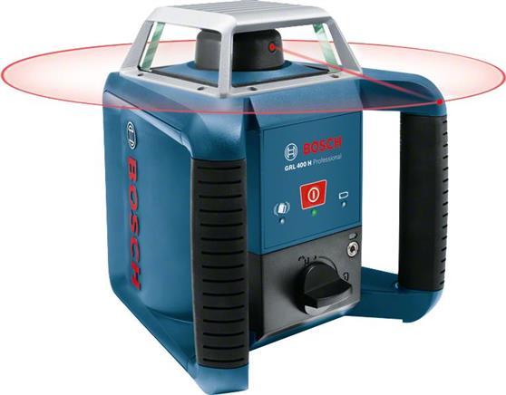 ΑλφάδιBoschGRL 400 H Professional Περιστροφικό Λέιζερ + LR 1