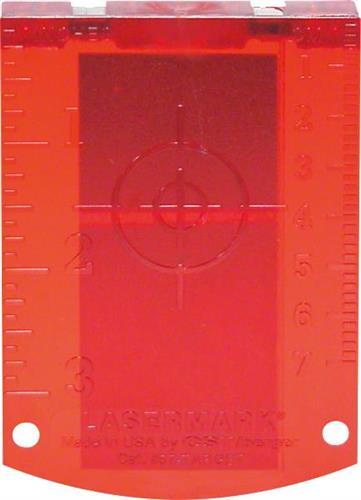 Αξεσουάρ ΕργαλείωνBoschΠίνακας Στόχου Λέιζερ Κόκκινος Professional