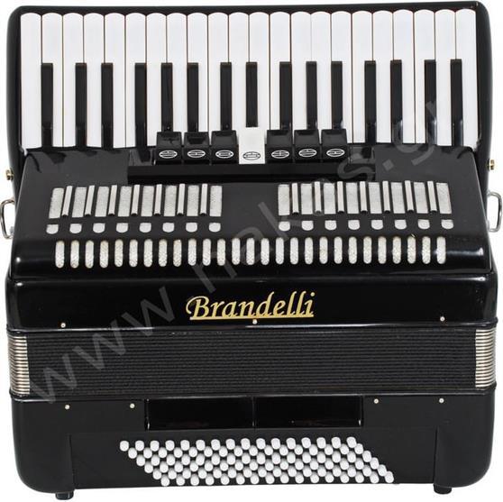 ΑκκορντεόνBrandelli120B Μαύρο