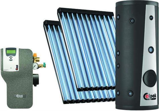 Συστήμα Βεβιασμένης ΚυκλοφορίαςCalpakEP CLS2-200 / 2x12VTS Κεραμοσκεπής