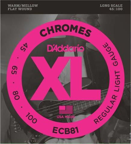 ΧορδέςD AddarioECB-81 Chromes Ηλ.Μπάσου