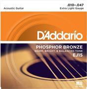 D Addario<br/>EJ-15 Ακουστικής Κιθάρας