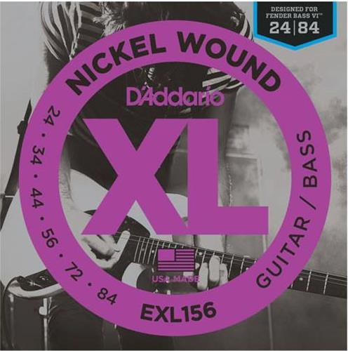 ΧορδέςD AddarioEXL-156 Nickel Wound Fender Bass VI Ηλ.Μπάσου