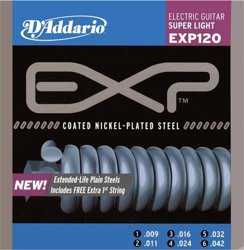 ΧορδέςD AddarioEXP-120 Extended Play Ηλεκτρικής Κιθάρας