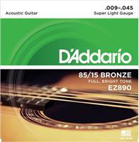 D Addario EZ-890 Ακουστικής Κιθάρας