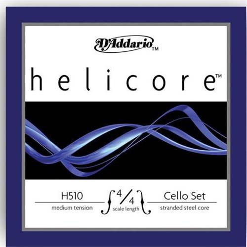 ΧορδέςD AddarioHelicore H-512 Ρε 4/4 Medium Tension Τσέλου