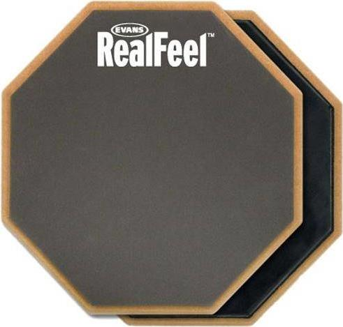 Practice Pads/Drum Mutes D Addario HQ Real Feel Διπλό Λάστιχο Μελέτης 12