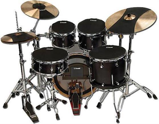 Practice Pads/Drum MutesD AddarioHQ Σετ λάστιχα μελέτης Fusion