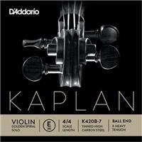 D Addario K420B-1 E Kaplan Light Βιολιού Μι