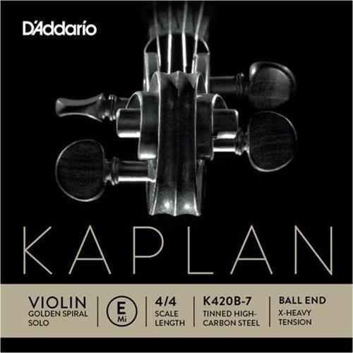ΧορδέςD AddarioK420B-1 E Kaplan Light Βιολιού Μι