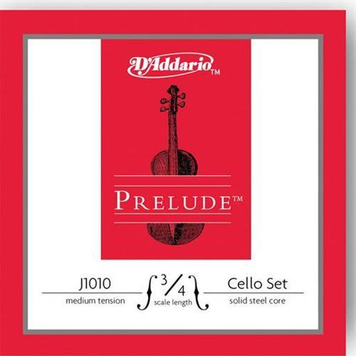ΧορδέςD AddarioPrelude J1012 3/4 Ρε Medium Tension Τσέλλου
