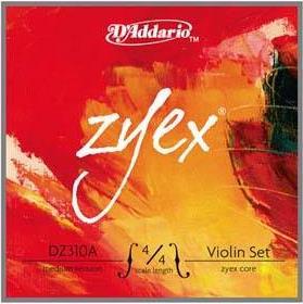 D Addario Zyex DZ314 Silver Medium Βιολιού