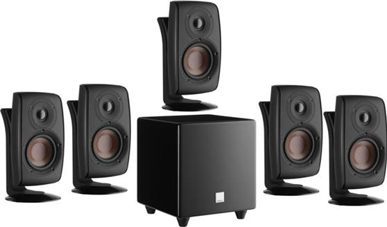 Σετ Ηχείων Home Cinema Dali Fazon SAT 5.1-1 Black High Gloss