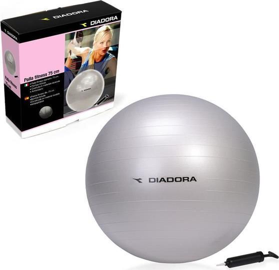 ΓυμναστικήςDiadora75cm Gym Ball Anti-Burst