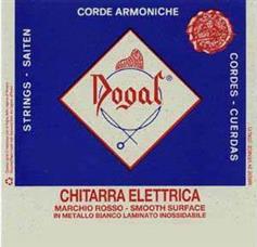 Dogal R383/4, (D) ΡΕ Ηλεκτρικής Κιθάρας 028 D4 Flat