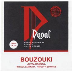 Dogal R70 Flat Set Μπουζουκιού 8/Χορδο, Εxtra Light