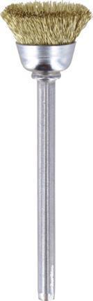 Αξεσουάρ ΕργαλείωνDremel536 Ορειχάλκινη Βούρτσα 13mm 2 τμχ