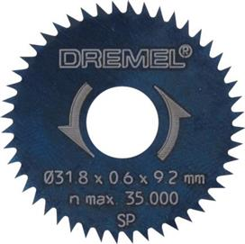 Dremel 546 Πριονόδισκος Διαμήκους - Εγκάρσιου Κοψίματος 31,8mm