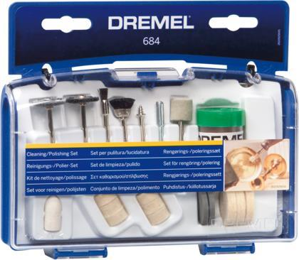 Αξεσουάρ ΕργαλείωνDremel684 Σετ για Καθάρισμα - Γυάλισμα 20 τμχ
