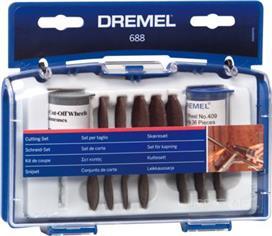 Dremel 688 Σετ Κοπής 69 τμχ