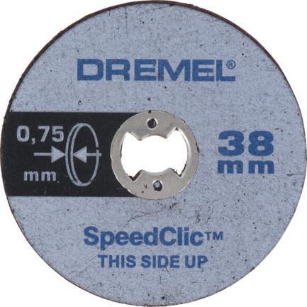 Αξεσουάρ ΕργαλείωνDremelSC409 EZ SpeedClic Λεπτοί Δίσκοι Κοπής
