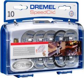 Dremel SC690 Σετ Εξαρτημάτων Κοπής EZ SpeedClic 11 τμχ